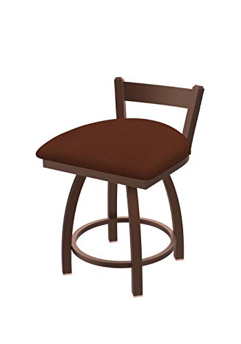 Holland Bar Stool Co. 82118BZ023 821 Catalina Low Back Swivel Vanity Bar Stool, Rein Adobe