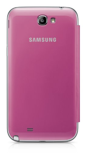 Samsung Galaxy Note 2 Flip Cover Case (Pink) Photo #2