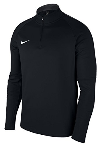 Nike Men's Dry Academy 18 Drill Football Top (Black/Anthracite/White, L)