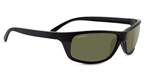 Serengeti 8396-Bormio Bormio, Satin/Shiny Black, Polar PhD - Sunglasses Maestrale Serengeti
