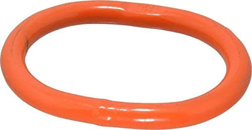 Import - G100 Grade Orange Finish, Alloy Steel Oblong Master Link 3/8 Inch Diameter, 3,800 Lbs. Load Limit