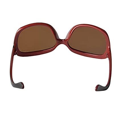 d672449dfe1 LIANSAN Designer Polarized Sunglasses Oversized PC Frame for Women Lady  P301-RD1 red  Amazon.ca  Luggage   Bags