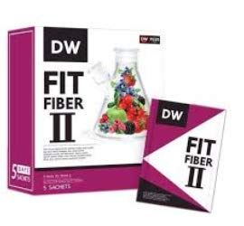 DW Fit Fiber II Drinking Dietary Supplement Slimming Body Healthy Weight Management by JN by DW Fit