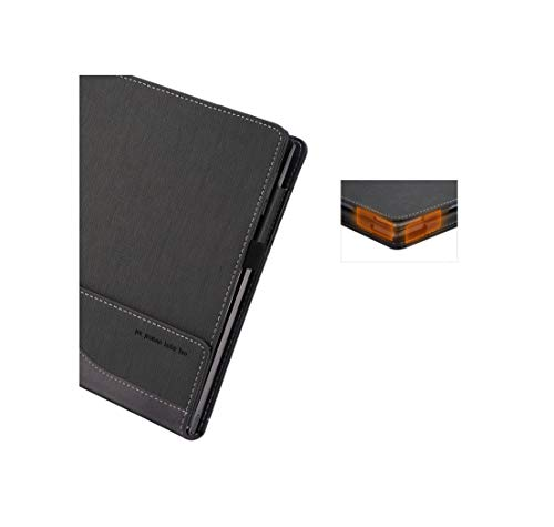 for Lenovo Yoga 730 Case, PU Leather Folio Stand Protective Laptop Cover for Lenovo Yoga 730-13/Yoga 720-13 13.3 Inch,Grey by Heycase (Image #7)