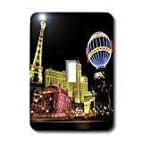 3dRose lsp_37789_1 Paris Hotel and Casin at Las Vegas Strip United States Single Toggle Switch
