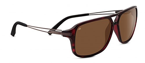 Serengeti 8190 Venezia, Shiny Dark Tortoise Frame, Polarized Drivers - Sunglasses Venezia