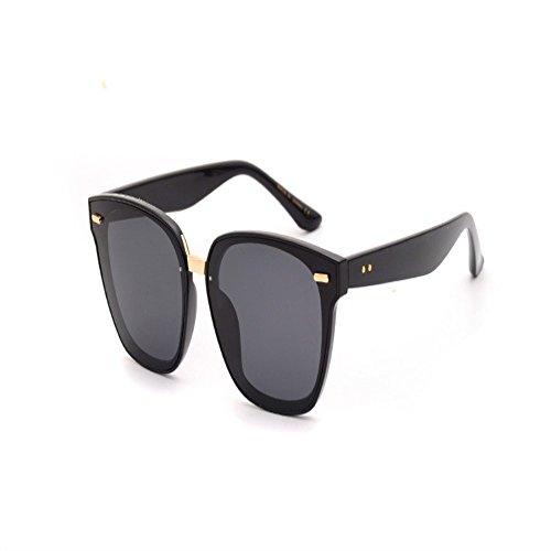 Gafas grande gafas sol Gafas súper de de de sol de para y sol caja hombres polarizadas 6 mujeres Negro gafas sol Shop 6OqISq