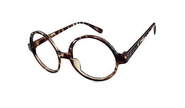 Gafas de payaso - redondas - nerd - manchadas - fiesta - disfraz ...