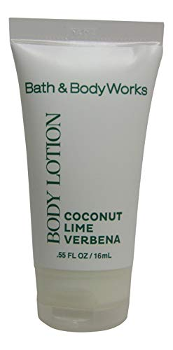 Bath Body Works Coconut Lime Verbena Body Lotion. Lot of 30 each 0.55oz Bottles. Total of 16.5oz.