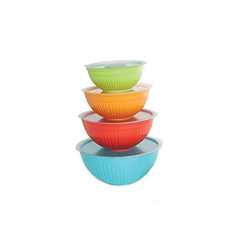 Nordic Ware 8 Piece Covered Bowl Set, ()