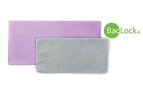 Norwex Basic Package - Microfiber Antibacterial - Glass Window Cleaning Cloth and Household Enviro Dusting Cloth Colors May ()
