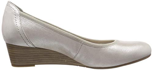 22 1 De Para Mujer Plateado Tamaris silver Zapatos 1 Tacón 22320 941 941 wOFqtnqTR