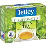 Tetley Naturally Decaffeinated Green Tea Bags – 40 CT For Sale