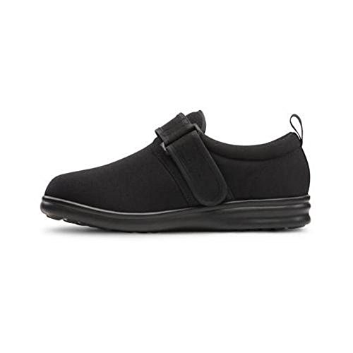 Dr. Comfort Marla Women's Therapeutic Diabetic Extra Depth Shoe: Black 8.5 X-Wide (XW/4E) Velcro by Dr. Comfort (Image #2)