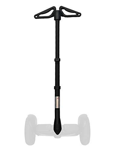 New improved 2019 version adjustable handlebar for Segway Ninebot MINI S, LITE, PRO, multi-function retractable 2-in-1 kit handle bar easy installation (Segway not included)