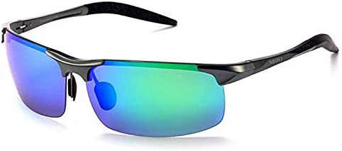 Men Polarized Cycling Sunglasses Riding Running Sports Glasses Metal Alloy Frame