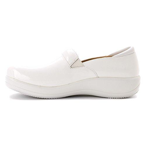 Professional Keli Alegria Waxy Shoe Women's White 6gnw8pq