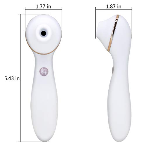 Clit Sucking Vibrator Dildo Sex Toy Personal Clitoral Stimulator G Spot with Suction & Vibration Orgasm for Women  by FClub-Toy (Image #7)