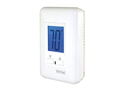 King Electric ES230-R Electronic Line Voltage 208/240V Thermostat ()
