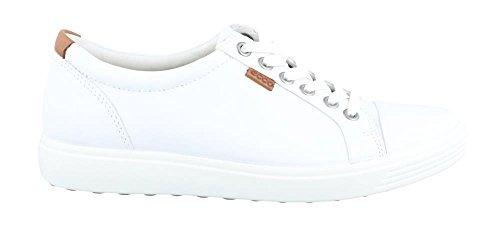 VII Soft Women's 8 5 Sneakder ECCO Top Low Size White UK q1E5n