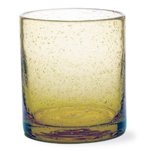 (Wheat Double Old Fashioned Bubble Glass)