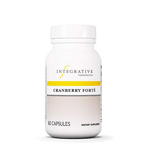 Integrative Therapeutics – Cranberry Forté – Cranberry and Other Herbal Extracts for Urinary Tract Support – 60 Capsules Review