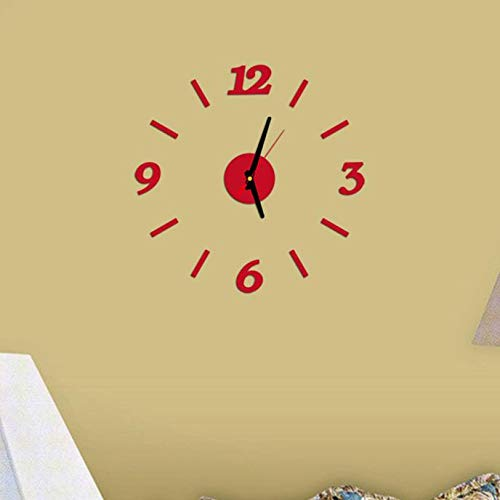 - Clock Modern Wall Clock Living Room DIY 3D Decoration Mirror Art Design Home Garden Kitchen Accessories Clocks Alarm Clock