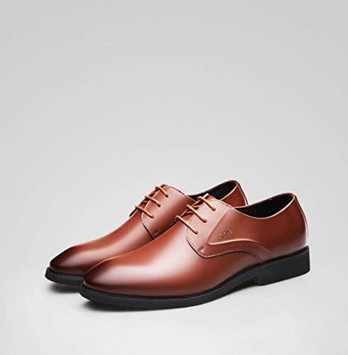 marea scarpe da uomo pelle da lavoro uomo scarpe Marrone in nere pelle in eleganti Scarpe in con da estate uomo pelle da da uomo WFL ZBpgtxn