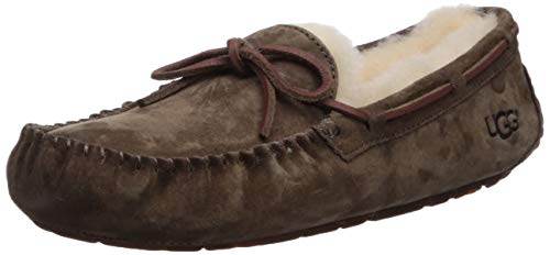 UGG Women's Dakota Moccasin, ESPRESSO, 8 B US (Womens Brown Moccasins)