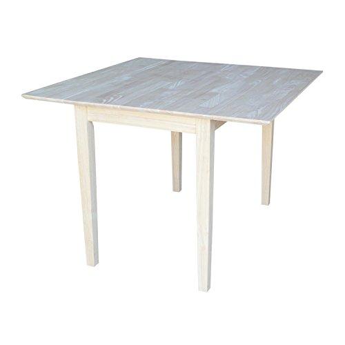 International Concepts Dual Drop Leaf Dining Table - Square (Square Concepts Table Dining International)