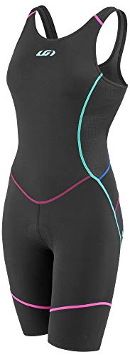 - Louis Garneau Women's Comp Open-Back Triathlon Cycling Suit, Multicolor, Medium