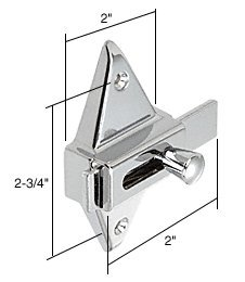 CRL Slide Latch for Restroom Partitions ()