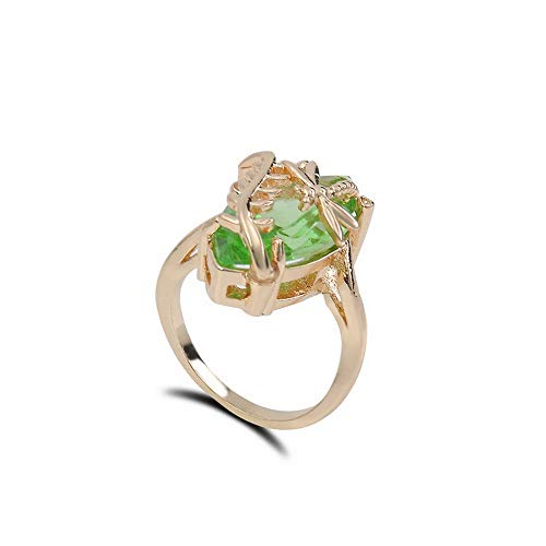 Monowi 18K Gold Plated 925 Silver Pink Sapphire Ring Womens Wedding Gift Size6-10 Hot | Model RNG - 19573 | 6