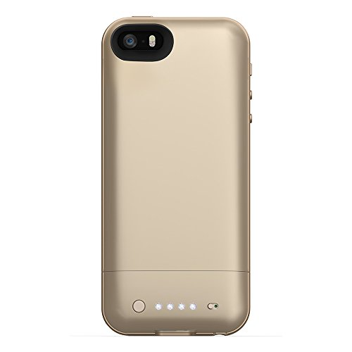 mophie juice pack Air for iPhone 5/5s (1,700mAh) - Gold