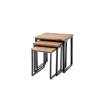 Riviera Maison - Shelter Island End -Table - 3er-Set - recyceltes ...