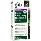 Black Elderberry Night Time Syrup Lg, 5.4 oz ( Multi-Pack)