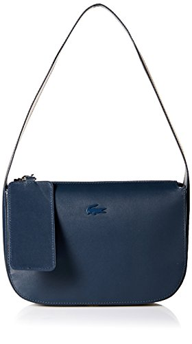 Lacoste Extra Small Hobo Bag, Nf2379py, Total Eclipse by Lacoste