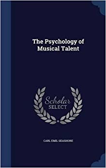 Book The Psychology of Musical Talent