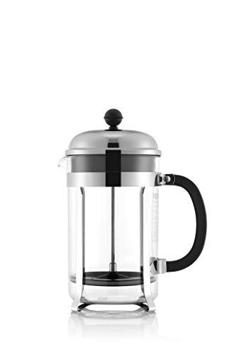 Bodum Chambord French Press Coffee Maker, 51 Ounce, Chrome