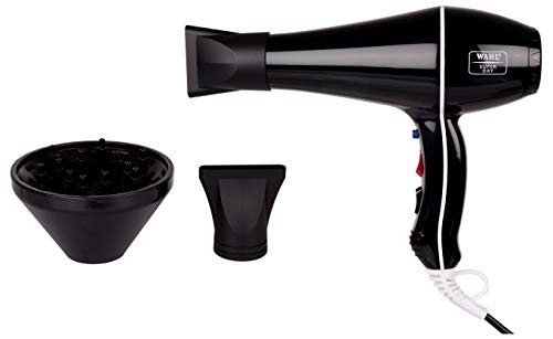Wahl 5439-024 Super Dry Professional Styling Hair Dryer, Black