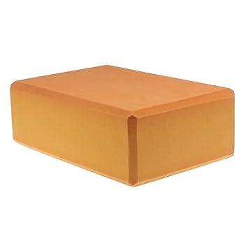 Orange Women 1pc Foaming Foam Yoga Block Brick Home Exercise Practice  Fitness Gym Sport Fitness Stretching 997833c5c1