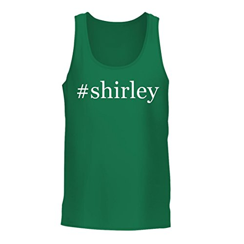 #Shirley - A Nice Hashtag Men's Tank Top, Green, Large