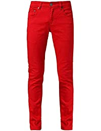 Men's Color Skinny Jeans with Spandex