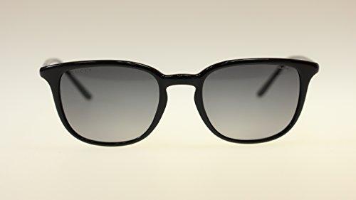 Gucci Mens Sunglasses GG1067 GVJWJ Shiny Black 51MM Authentic