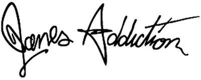 Janes Addiction Rock Band Decal Sticker Car Motorcycle Truck Bumper Window Laptop Wall Décor Size- 8 Inch Wide Gloss Black Color