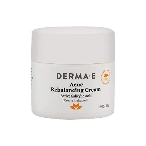 DERMA E Acne Rebalancing Cream, Prevents Blemishes, 2 oz (Derma E Hyaluronic Acid Night Cream Reviews)