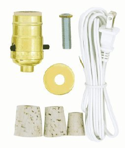 S70/025 Bottle Adapter - Create-A-Lamp Kit (7002500) - Table Lamps ...