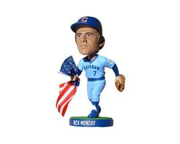 "Dodgers 2013 Rick Monday ""Flag Saving"" SGA Bobblehead"