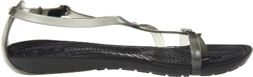 Crocs RealySxiFlpSndl - Sandalias de dedo para mujer Negro (black/black 060)