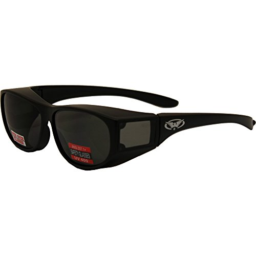 Global Vision Escort Safety Glasses w/Smoke Lenses by Global